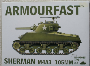 Armourfast 20mm 99015 M4A3 105mm Sherman